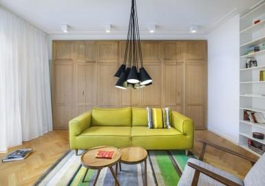 锦州北欧风格设计:巧妙应用客厅挡墙