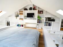 锦州小户型设计:45平米loft装出别墅感觉