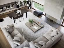锦州二手房翻新改造设计:190平米现代简约风格