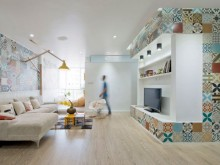 锦州二手房翻新改造:69平米小户型,小清新风格