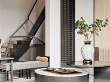 养老住宅室内空间设计要点之楼梯高度与形状