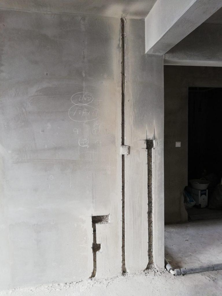 锦州装修工艺讲解(1)一切从墙体开槽开始-锦州装修公司【中古空间】锦州别墅庭院设计 | 辽宁中古养老院规划设计研究所