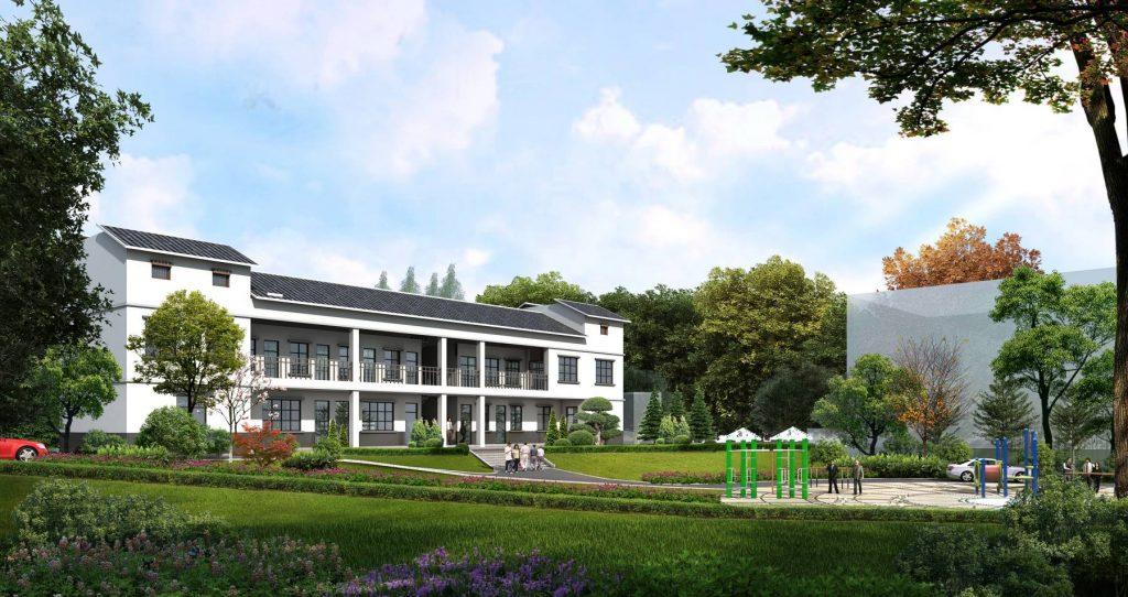 养老地产项目总平面布局原则的确定-养老院设计 |养老地产 |辽宁中古养老院规划设计研究所